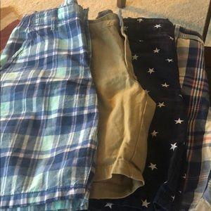 Boys shorts X 4